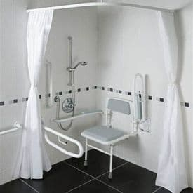 Eco White Doc M Disabled Shower Pack - DTUK72