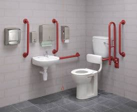 Bespoke Colour Low Level Disabled Toilet Pack - DTUK17BE
