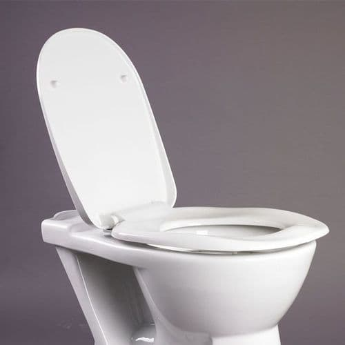 DTUK40 Bariatric Toilet Seat with Lid