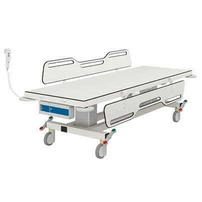 Pressalit MCT2 Electrically Height-Adjustable 2100mm Changing Trolley