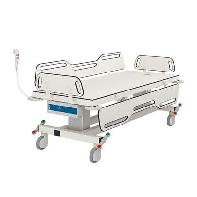 Pressalit MSCT1 Electrically Height-Adjustable 1700mm Shower Change Trolley
