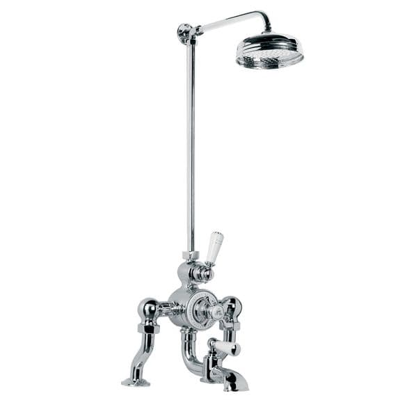 CLEARANCE - GD8822 Lefroy Brooks Exposed Thermostatic BSM with Riser Kit 8