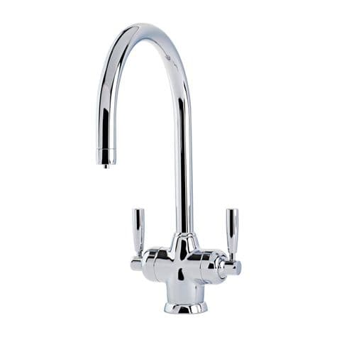 1435 Perrin & Rowe Mimas Sink Mixer Tap with Filtration and C Spout