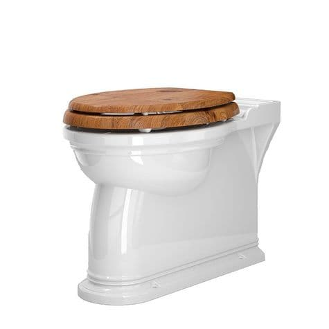 2879 Perrin & Rowe Victorian Back to Wall WC Pan