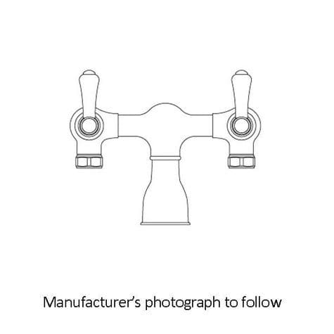 3021 Perrin & Rowe Bath Filler Tap With Lever Handles, No Mounts
