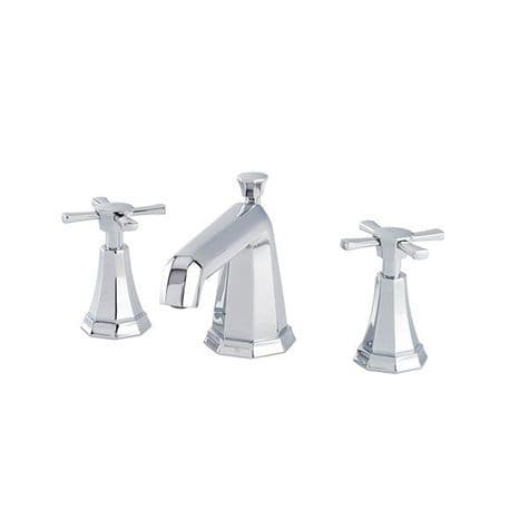 3142 Perrin & Rowe 3-hole Basin Mixer Tap With Crosstop Handles