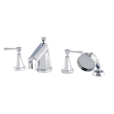 3148 Perrin & Rowe 4-hole Bath Shower Mixer Tap With Lever Handles