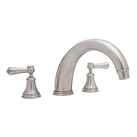 3658 Perrin & Rowe 3-hole Deck Mounted Bath Filler Tap