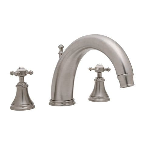 3659 Perrin & Rowe 3-hole Deck Mounted Bath Filler Tap