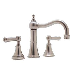 3723 Perrin & Rowe Georgian 3 Hole Country Spout Basin Mixer Tap With Lever Handles
