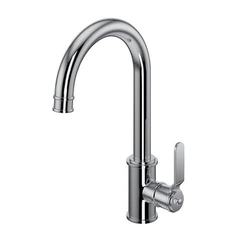 4512HS Perrin & Rowe Armstrong Kitchen Single Lever Mixer Tap - Smooth Handle