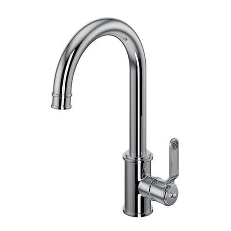 4512HT Perrin & Rowe Armstrong Kitchen Single Lever Mixer Tap - Textured Handle