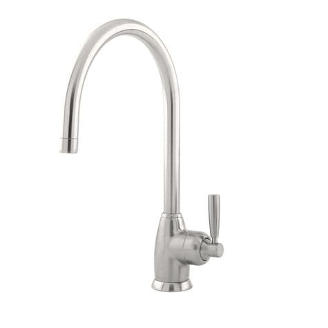 4841 Perrin & Rowe Mimas C Spout Sink Mixer Tap With Single Lever Handle