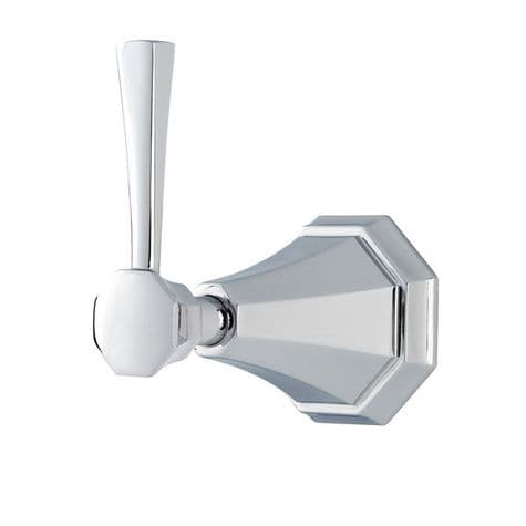 5141 Perrin & Rowe Concealed 1-Inlet, 2-Outlet Shower Diverter Tap With Lever Handle