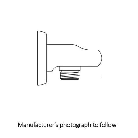 5302 Perrin & Rowe Langbourn Shower Wall Outlet with Parking Bracket