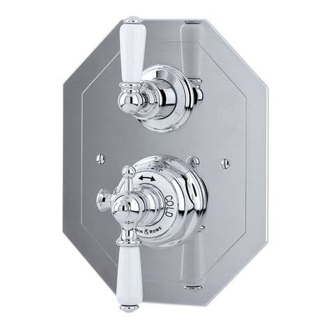 5555 Perrin & Rowe Concealed Thermostatic Shower Mixer with Lever Handles