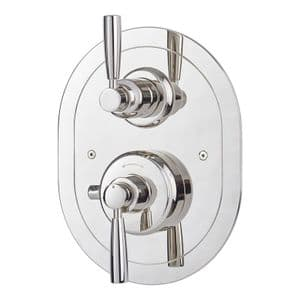 5855 Perrin & Rowe Langbourn Concealed Thermostatic Shower Mixer - Lever