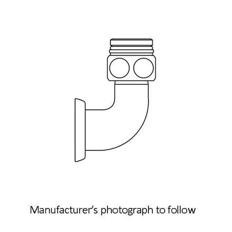 5898 Perrin & Rowe Secondary Outlet Connector for Langbourn Exposed Thermostatic Shower Mixer