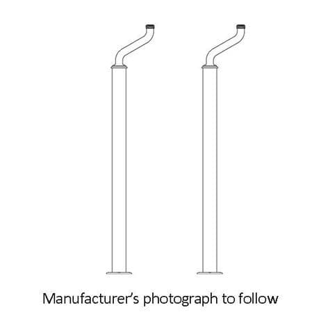 6380 Perrin & Rowe Extended Pillar Unions And Floor Legs For Bath Shower Mixer Tap