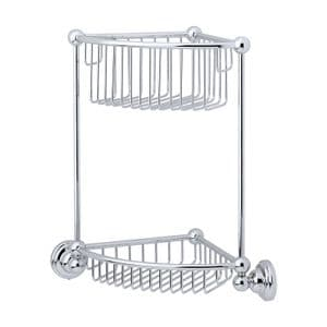 6959 Perrin & Rowe Two Tier Corner Basket