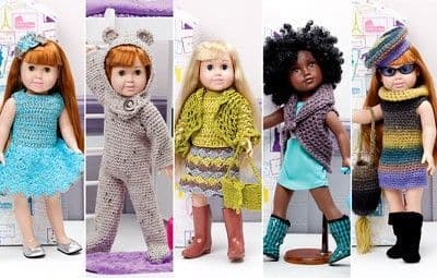 18 inch Dolls and Pattern Books