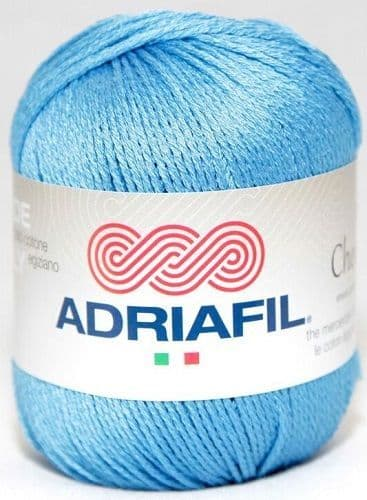 Adriafil CHEOPE Cotton 058 Deep Azure REDUCED