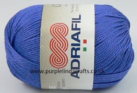 Adriafil CHEOPE Cotton 063 Ocean Blue Royal REDUCED
