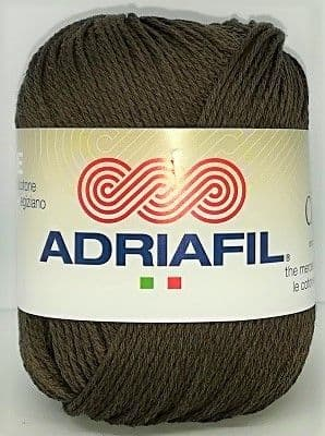 Adriafil CHEOPE Cotton 066 Brown REDUCED