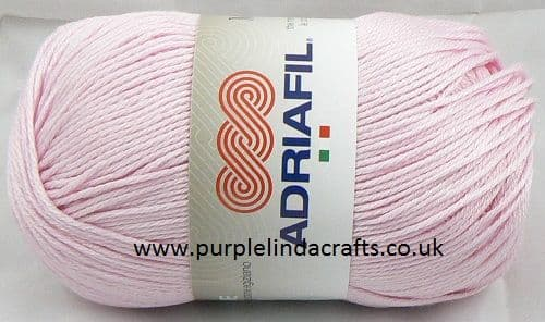 Adriafil MEMPHIS Cotton Yarn 03 Baby Pink REDUCED