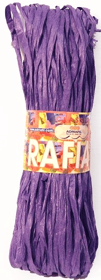 Adriafil Rafia 075 Purple REDUCED