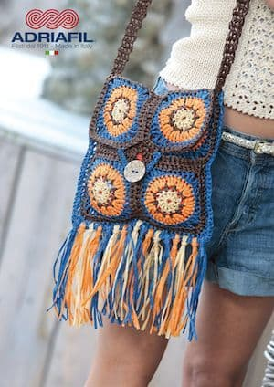Adriafil Rafia ANTHE Bag Crochet Pattern