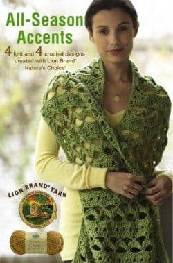 All Season Accents Crochet & Knit Pattern Book A5 75339 DISCONTINUED