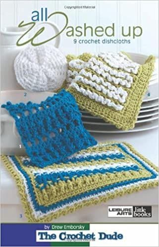 All Washed Up Crochet A5 Pattern Book LA  75272 DISCONTINUED