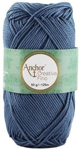 Anchor Creativa FINO 0269 Grey Blue