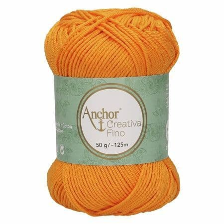 Anchor Creativa FINO 0411 Marigold Orange