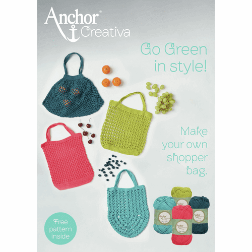 Anchor Creativa Go Green in Style Crochet Booklet FREE