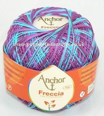Anchor Freccia Multicolour Crochet Cotton tkt 6, tkt 12, tkt 16