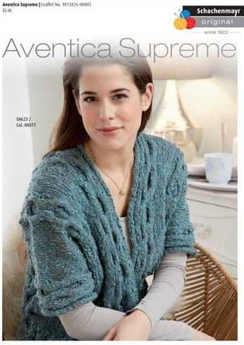 Aventica Supreme Casual Jacket Knitting Pattern