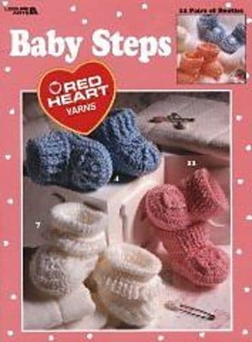 Baby  Steps Pattern Book LA 2865 DISCONTINUED