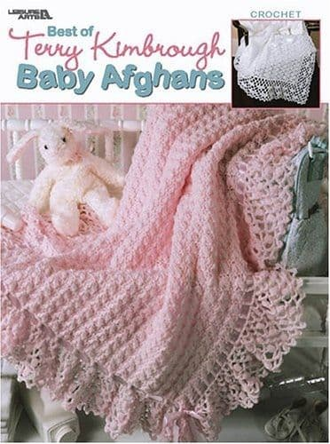 Best of Terry Kimbrough Baby Afghans Pattern Book LA 3267 DISCONTINUED