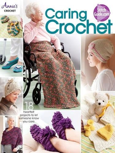 Caring Crochet Pattern Book Annies 871509 DISCONTINUED