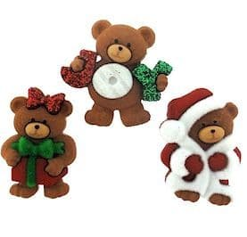 Christmas Buttons and Embellishment Packs