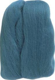 Clover Natural Wool Roving Needle Felting 7924 Teal