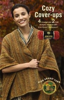 Cozy Cover-ups Crochet & Knit Pattern Book A5 DISCONTINUED