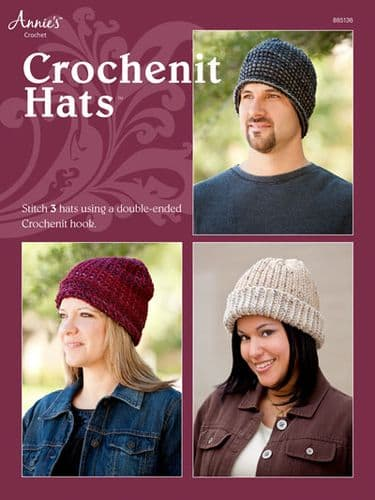 Crochenit Hats Pattern Booklet AA 885136 DISCONTINUED