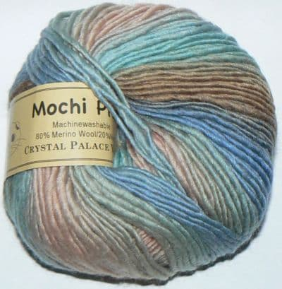 Crystal Palace Mochi Plus Wool 567 BEACH SCENE DISCONTINUED