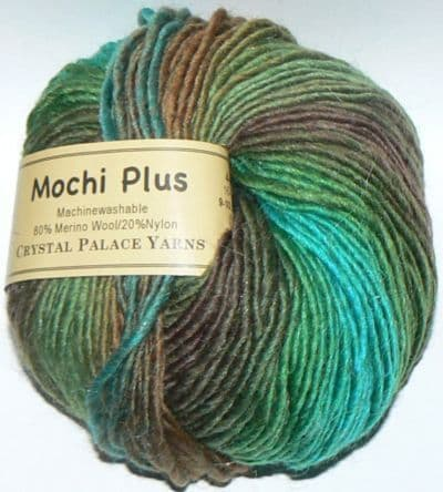 Crystal Palace Mochi Plus Wool 569 LAKE TRAIL DISCONTINUED