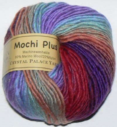 Crystal Palace Mochi Plus Wool 570 FIREWORKS Discontinued