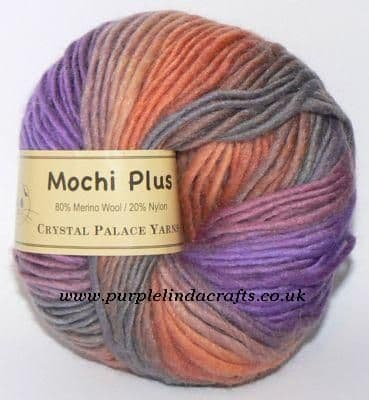 Crystal Palace Mochi Plus Wool 611 Negril Sunset DISCONTINUED