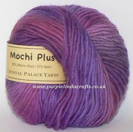 Crystal Palace Mochi Plus Wool 615 Grateful Grapes DISCONTINUED